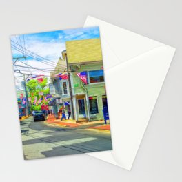 Vibrant Provincetown Cape Cod Stationery Cards