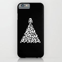 Skulls Christmas Tree iPhone Case