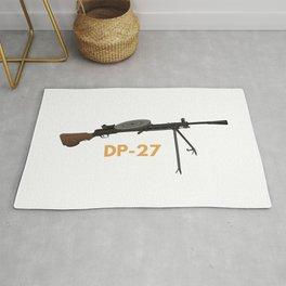 Soviet WW2 Degtyaryov DP-27 Machine Gun Rug