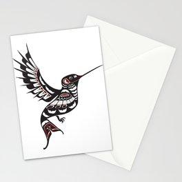 Pacific Northwest Hummingbird coastal formline art colibri Stationery Cards