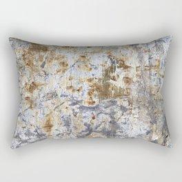 Yellow Painted Wall Warm Rectangular Pillow