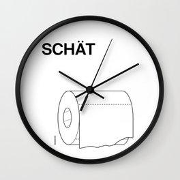 SCHÄT Wall Clock