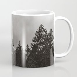 Misty Forest in Black and White II Coffee Mug