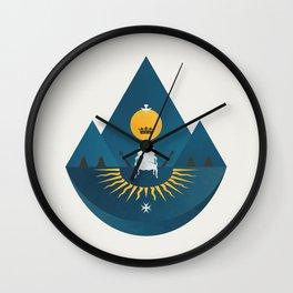 The Sun King Wall Clock