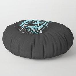 Pisces the Fish Constellation Floor Pillow