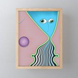 Something Has Come Between Us Framed Mini Art Print