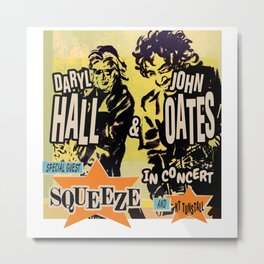 HALL & OATES, SQUEEZE, KT TUNSTALL - TOUR 2020 Metal Print