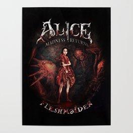 Alice Madness Returns Fleshmaiden Game Poster