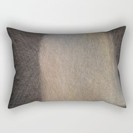 Girl with Pearl Lines Rectangular Pillow