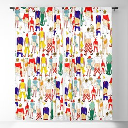 Fast Food Butts V2 Blackout Curtain