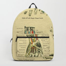 Anatomy of the Hand Backpack