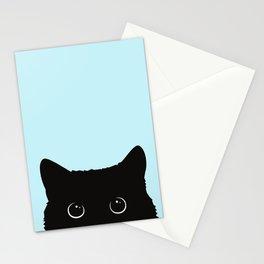 Black cat I Stationery Cards