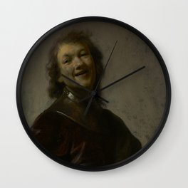 Rembrandt Laughing Wall Clock
