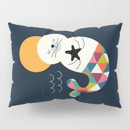 Seals Mermaid Pillow Sham