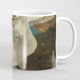 The threatened swan - Jan Asselijn (1650) Coffee Mug