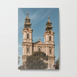 Roman-catholic cathedral in Subotica, Serbia // fall // autumn Metal Print