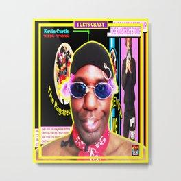 KEVIN CURTIS BARR ... Poster Metal Print