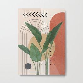 Nature Geometry V Metal Print