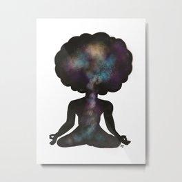 Meditate Metal Print