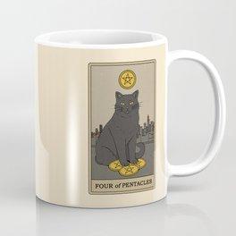 Four of Pentacles Coffee Mug