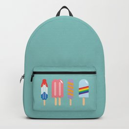Popsicles - Four Pack Teal #835 Backpack