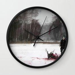Geralt of rivia Wall Clock