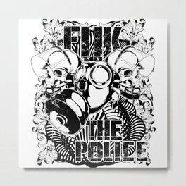 The Police Metal Print