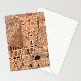 Petra Ruins Temple Facade, Jordan Stationery Cards