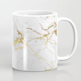 White gold marble Coffee Mug