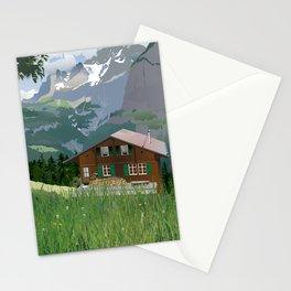 Murren, Switzerland Stationery Cards