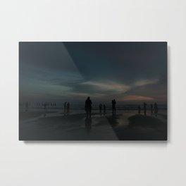 Ghost Beach Metal Print
