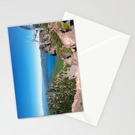 Paulina Lake Paulina Peak Newberry Crater central Oregon photo print Stationery Cards