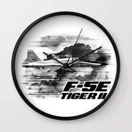 F-5E Tiger II Wall Clock