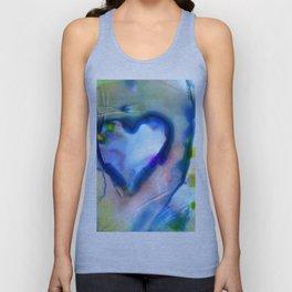 Heart Dreams 4B by Kathy Morton Stanion Unisex Tank Top