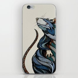 Berlin Rat iPhone Skin