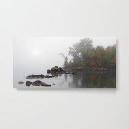 Misty Morn Metal Print