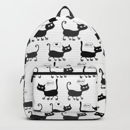 Fluffy friends Backpack