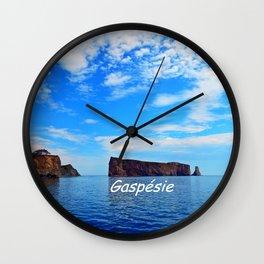 Perce Rock Wall Clock