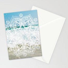 Beach Manadala Stationery Cards