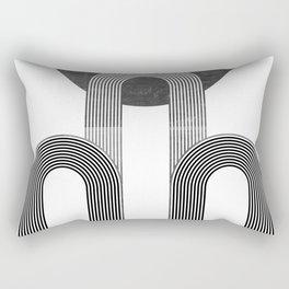 MID CENTURY MODERN ART DECO ARTWORK Rectangular Pillow