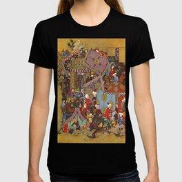 Painting of a copy of Jami's Aurang haft T-shirt