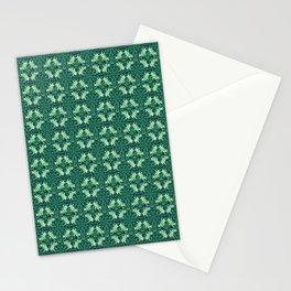 Nano Royal Floral Mandala Print Stationery Cards