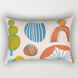 Abstraction_Nature_Element_01 Rectangular Pillow
