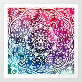 Mandala Namaste Spiritual Zen Bohemian Hippie Yoga Mantra Meditation Kunstdrucke