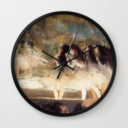 Ballet At The Paris Op Ra 1877 78 By Edgar Degas | Reproduction | Famous French Painter Wall Clock