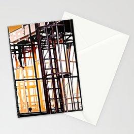 burning glases Stationery Cards