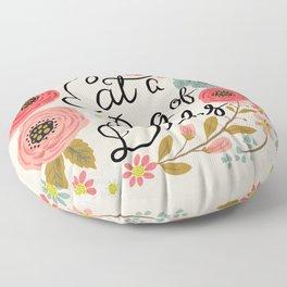 Pretty Swe*ry: Eat a Bag of D*cks Floor Pillow