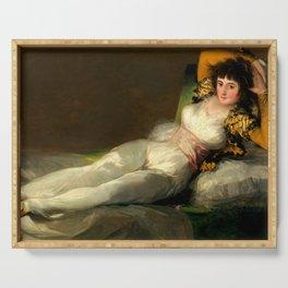 """Francisco Goya """"La maja vestida (The Clothed Maja)"""" Serving Tray"""