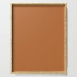 Now SUGAR ALMOND bronze solid color  Serving Tray