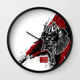 The Way Of The Warrior - Kabuto Wall Clock